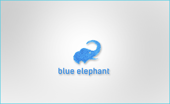 Logo Blue Elephant